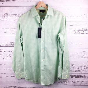 BANANA REPUBLIC Mint Non Iron Dress Work Shirt NWT